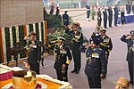 Service Chiefs pay homage at Amar Jawan Jyoti, India Gate - Navy Day 2017 (4).jpg