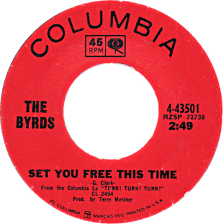 Set You Free This Time single by The Byrds