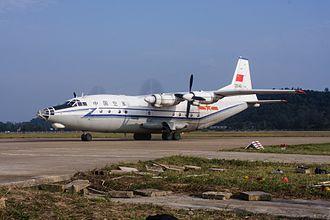 Shaanxi Y-8 - Shaanxi Y-8 of PLA Air Force