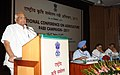 Sharad Pawar addressing the National Conference on Agriculture for Rabi Campaign-2011, in New Delhi. The Minister of State for Agriculture, Food Processing Industries and Parliamentary Affairs.jpg