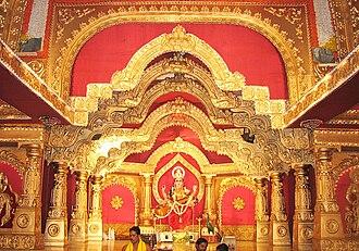 Mangalore Dasara - Sharada, Primary deity worshipped in Shri Gokarnanatheshwara Temple during dasara