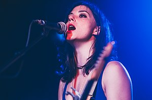 Sharon Van Etten - Image: Sharon van etten belly up 2012