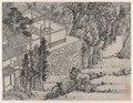 Shen Zhou - Twelve Views of Tiger Hill, Suzhou, The Enlightened Stone Retreat - 1964.371.4 - Cleveland Museum of Art.tiff