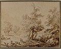 Shepherd with His Flock in a Clearing MET 61.164.jpg