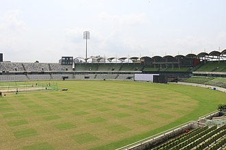 Sher-e-Bangla National Cricket Stadium - A view of SBNCS from South Gallery.