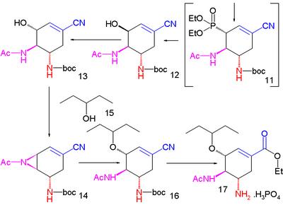 Shibasaki Tamiflu SynthesisPart II