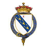 Shield of arms of Edward Smith-Stanley, 14th Earl of Derby, KG, GCMG, PC