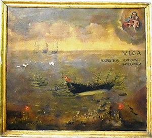 Żabbar Sanctuary Museum - Ex-voto painting at the museum