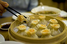 Shrimp shaomais by Stewart at Din Tai Fung in Taipei.jpg