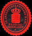 Siegelmarke 25. Infanteriebrigade (2. Königlich Württembergische) Brigade - Commando W0224212.jpg