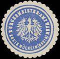 Siegelmarke Bürgermeister-Amt Wahn Kreis Mülheim-Rhein W0382713.jpg
