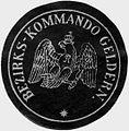 Siegelmarke Bezirks - Kommando Geldern W0233493.jpg