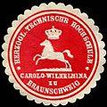 Siegelmarke H. Technische Hochschule Carolo - Wilhelmina zu Braunschweig W0232219.jpg