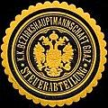 Siegelmarke K.K. Bezirkshauptmannschaft Graz - Steuerabteilung W0316976.jpg