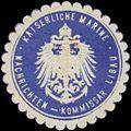 Siegelmarke K. Marine Nachrichten-Kommissar Libau W0357518.jpg