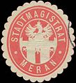 Siegelmarke Stadtmagistrat Meran W0327893.jpg