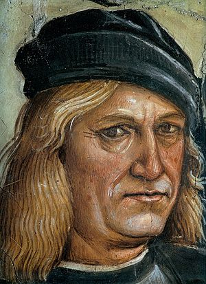 Luca Signorelli - Self portrait of Luca Signorelli