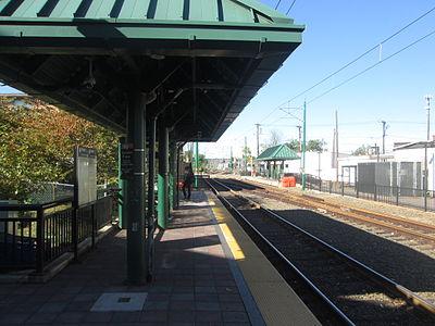 Silver Lake station