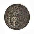 Silvermynt, 1 skilling - Skoklosters slott - 109630.tif