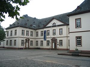 Simmern - The New Schloss Simmern, built between 1708 and 1713 as the Palatine Oberamtmann's seat