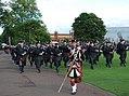Simon Fraser University Pipe Band (9541736398).jpg