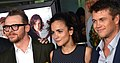Simon Pegg, Alice Braga & Luke Hemsworth Premiere of Kill Me Three Times (cropped).jpg