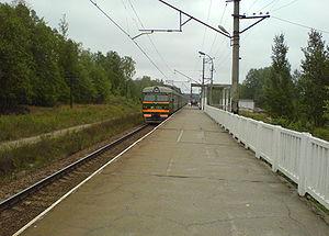 Saint Petersburg–Hiitola railway - Sinyovo