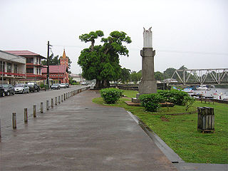 Sinnamary Commune in French Guiana, France
