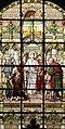 Sint-Laurentiuskerk (Lokeren) - Glasraam - De H. Laurentius helpt de armen.JPG