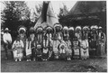 Sioux Indians in native dress on tour with Circus Sarrasani in Dresden, Germany - NARA - 285597.tif