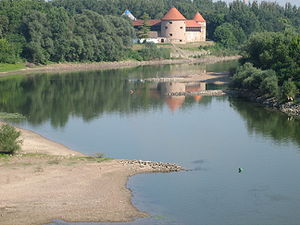 Battle of Sisak - The Sisak fortress as it is nowadays