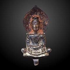 Sitted buddha meditating-EO 1283