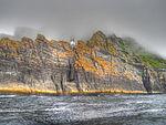 Skellig Michael island with lighthouse (8045628983) (2).jpg