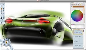 Autodesk SketchBook Pro - Image: Sketchbookpro 3