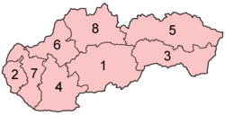 Slovakia regions numbered.png