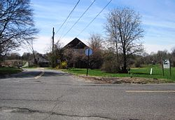 Corner of Pleasant Valley Road and Conover Road