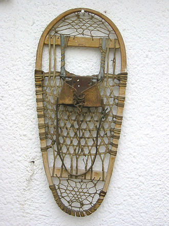 Snowshoe - Traditional snowshoe