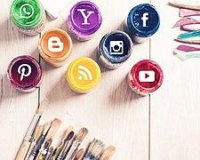 Social Media Logos on An Art Background.jpg