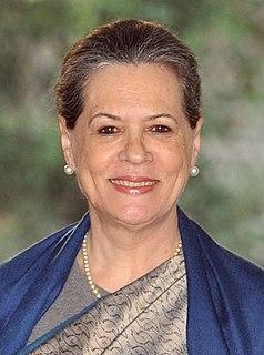 Sonia Gandhi Indian politician
