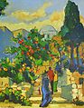 Sorin Adam - Peisaj din Ein Hod (Israel).jpg