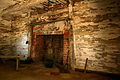 Sotterly Plantation, interior of slave dwelling (21440738040).jpg