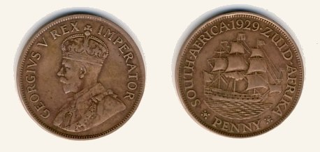 South Africa-Penny-1929