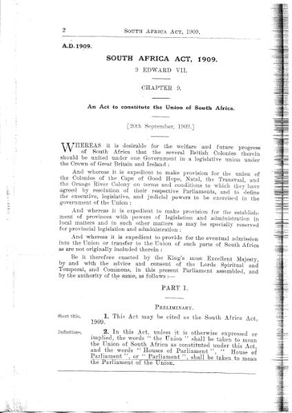 File:South Africa Act 1909.djvu