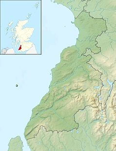 Mapa lokalizacyjna South Ayrshire