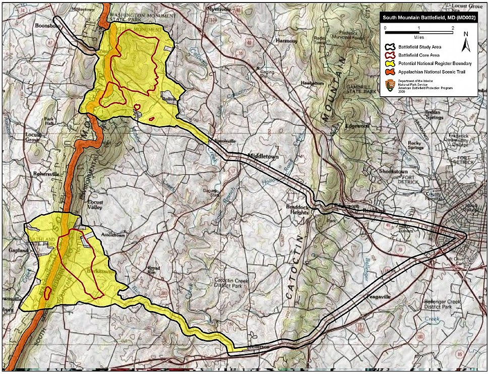 South Mountain Battlefield Maryland
