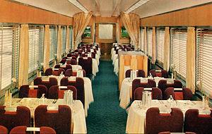 Shasta Daylight - Shasta Daylight dining car