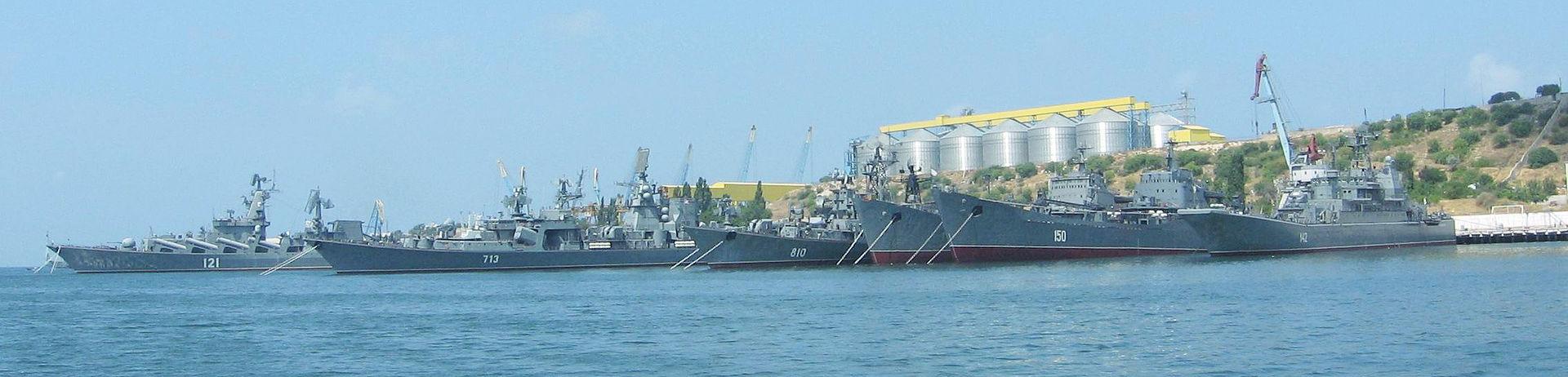 القوة البحرية الروسية تحديث الأسلحة والقواعد وتعزيز الانتشار 1920px-Soviet_and_Russian_Black_Sea_Fleet