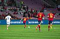 Spain - Chile - 10-09-2013 - Geneva - Alexis Sanchez, Santiago Cazoria Raul Albiol and Javi Garcia.jpg