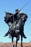 Spain Burgos statue the Cid crop.jpg