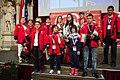 Special Olympics World Winter Games 2017 reception Vienna - Tajikistan 02.jpg